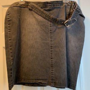 Vintage Tommy Hilfiger Woman's Jean Skirt